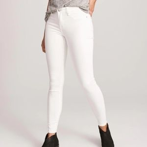 Abercrombie and Fitch Skinny White Jeans